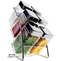[WALMART] Conjunto de Porta Condimentos 6 Peças Square - Euro Home - R$30