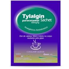 [ULTRAFARMA] Chá Antigripal: Tylalgin mel e limão sachê com 5 gramas $0,75