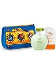Kit Natura Diversão e Proteção Meninos OU Meninas - Loção Protetora FPS 60 + Shampoo 2 em 1 + Necessáire - R$ 68