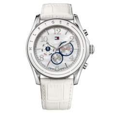 [VIVARA] Relógio Tommy Hilfiger Feminino Couro Branco - R$245