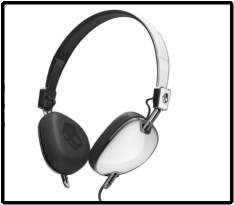 [Saraiva] Fone de Ouvido - Headphone Linha Navigator Para Produtos Apple - Branco por R$ 76