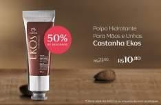 [Natura] Polpa Hidratante Para mãos Ekos Castanha -R$ 9