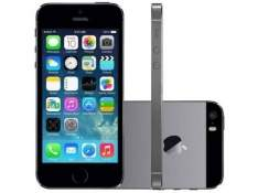 "[CLUBE DA LU] iPhone 5s Apple 16GB iOS 8 Tela 4"" 4G Wi-Fi - Câm. 8MP Grava em HD GPS Proc. M7 - Cinza Espacial por R$ 1539"