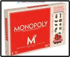 [Submarino] Jogo Monopoly 80 anos - Hasbro por R$ 30