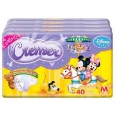 [Ricardo Eletro] Fralda Cremer Disney Baby M 160 unidades - por R$79