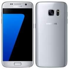 "[efácil] Smartphone Galaxy S7, Prata, Tela 5.1"", 4G+WiFi+NFC, Android 6.0, 12MP, 32GB - R$2905"