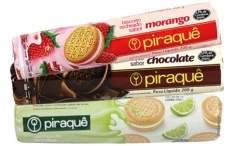 [SUPERMERCADOS MUNDIAL] - Biscoito PIRAQUÊ Recheado Vários Sabores 200g - R$2,99