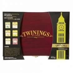 [TWININGS] Caixa De Madeira Twinings com 60 Saches de Chás + Frete grátis