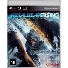 [Americanas] Game Metal Gear Rising - PS3 - R$10