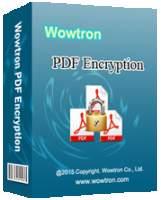 [SharewareOnSale] WowTron PDF Encryption Free!