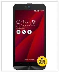 """[Saraiva] Smartphone Asus Zenfone Selfie Vermelho 4G Tela 5.5"""" Android 5 Câmera 13Mp Dual Chip 32Gb por R$ 1126"""