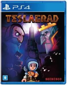 [Saraiva] Jogo Teslagard - PS4 - R$45