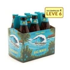 [Empório da Cerveja] 6 Cervejas Kona (LongBoard ou Big Wave) - por R$38
