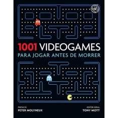 [Americanas] Livro - 1001 Videogames para Jogar Antes de Morrer por R$ 23