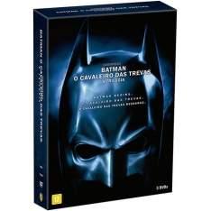 [Fnac] Box DVD Trilogia Batman O Cavaleiro das Trevas (3 discos) - R$20
