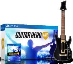 [SARAIVA] Guitar Hero Live Bundle (Jogo + Guitarra) para PS4 - R$206,00 em 1x no cartão