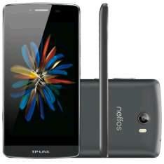 [Kabum] Smartphone TP-LINK Neffos C5, Processador Quad Core, Android 5.1, Tela 5.0´, 16GB, 8MP, 4G, Dual Chip, Desbloqueado - Cinza