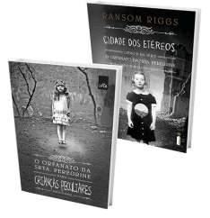 [Submarino] Kit Livros: O Orfanato da Srta. Peregrine Para Crianças Peculiares + Cidade Dos Etéreos - R$30