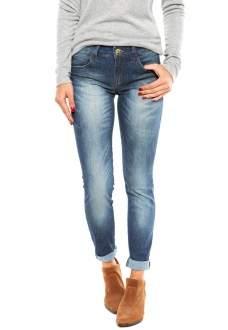 [DAFITI] Calça Jeans Colcci Skinny Katy Estonada Azul