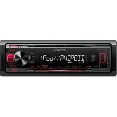 [Americanas] Auto Rádio com MP3 Player Kenwood KMM-1015 Entrada USB Auxiliar por R$  167