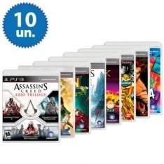 [Ricardo Eletro] Kit com 10 Jogos para Playstation 3 (Assassin´s Creed Ezio Trilogy contém 3 jogos ) por R$ 223