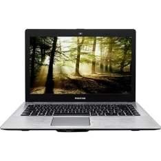 """[Americanas] Notebook Positivo Stilo XRI3150 Intel Dual Core 4GB 500GB Tela LED 14"""" Linux - Cinza Escuro  por R$999"""