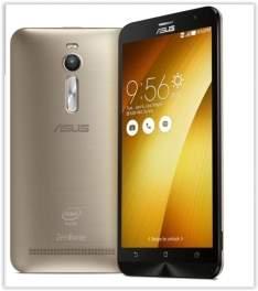 """[Saraiva] Smartphone Asus Zenfone 2 Dourado Tela 5.5"""" Android 5 Câmera 13Mp Dualchip Intel Atom Quad Core 32Gb por R$ 1147"""