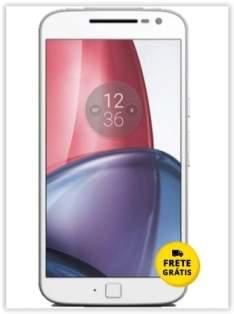 "[Saraiva] Smartphone Motorola Moto G 4 Plus Branco Tela 5.5"" Android™ 6.0.1 Marshmallow Câm 16Mp Dualchip 32Gb por R$ 1187"