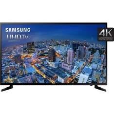 """[Samsung] Smart TV LED 40"""" Samsung 40JU6000 Ultra HD 4K com Conversor Digital 3 HDMI 2 USB Função Games Wi-Fi 120Hz por R$ 2193"""