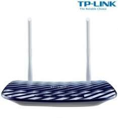 [Ricardo Eletro] Roteador Wireless TP-Link Archer C20 com Velocidade de 750Mbps, Banda de Frequência 2.4GHz (11N) e 5.0GHz (11AC), 2 Antenas Externas e Protocolo IPV6 por R$ 135
