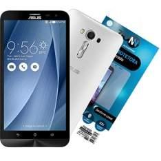 "[EFACIL] Smartphone Zenfone 2 Laser, Branco, Tela 5.5"", 4G+WiFi, 13MP, 16GB + Película Vidro Zenfone Laser - Asus  POR R$ 884"