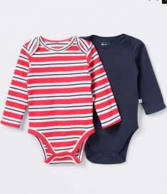 [Renner] 4 bodies infantis por R$79