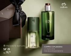 [Natura] Presente Natura SR N - Desodorante Colônia + Deo Corporal + Embalagem R$ 79,90