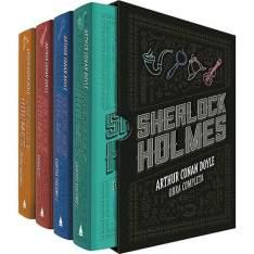 [Americanas] Livro - Box Sherlock Holmes: Obra Completa - 4 Volumes - R$ 43,91