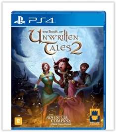 [Saraiva] The Book Of Unwritten Tales 2 - PS4 por R$ 72