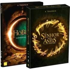 [Submarino] Coleção Trilogia O Senhor Dos Anéis (3 Discos) + DVD Hobbit Trilogia