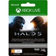 [PontoFrio] Xbox Live 12 Meses + DLC para Halo 5: Guardians