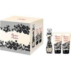 [Americanas] Kit Eau de Parfum Christina Aguilera Signature - Perfume 30ml + Gel de Banho 50ml + Loção Corporal 50ml - por R$59