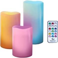 [Sou Barato] Velas Multi Color Relaxmedic - R$50