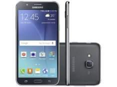 """[Fast Shop]Samsung Galaxy J7 Duos Preto, com Tela de 5,5"""", 4G, 16 GB e Câmera de 13 MP – J700 R$889"""