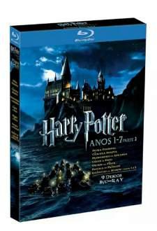[Americanas] Coleção Completa Blu-ray Harry Potter: Anos 1-7B (8 Discos)