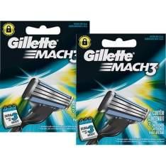 [Sou Barato] 6 lâminas Mach3 - R$ 20