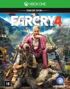 [Saraiva] Far Cry 4 - Signature Edition - Xbox One por R$ 72