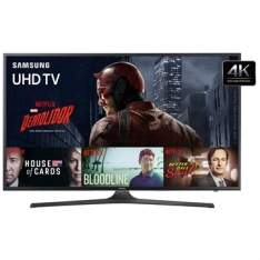 "[EFACIL] Smart TV 50"" Ultra HD 4K UN50KU6000GXZD WiFi 2 USB 3 HDMI - Samsung POR R$ 3349"
