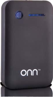 [Walmart] Carregador Portátil USB ONN 7800mAh Preto PC821 - R$60
