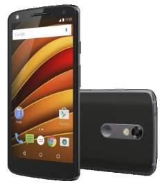 "[Saraiva] Smartphone Motorola Moto X Force Preto 4G Tela 5.4"" Android 5.1 Câmera 21Mp Dual Chip 64Gb por R$ 1935"