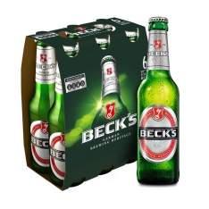 [Empório da Cerveja] Cerveja Beck's Long Neck 275 ml Caixa com 6 unidades - R$20
