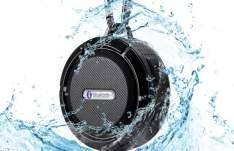 [Peixe Urbano] Caixa de Som Acústica Bluetooth C6 À Prova D'água – Preto, Verde ou Branco em até 12x. Frete Grátis! por R$ 100