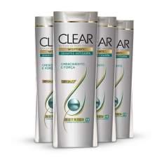 [Netfarma] Kit Shampoo Clear Women Anticaspa Crescimento e Força - R$44