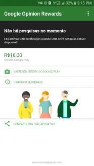 [Google Play] Google Opinion Rewards